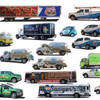 Fleet Graphics and Vehicle Wraps