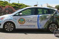 City of Patterson Water Conservation Car Wrap