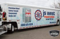 JS West Propane Delivery Trailer