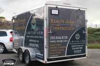 Realty Design Trailer Wrap