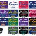 8th Grade Graduation Signs