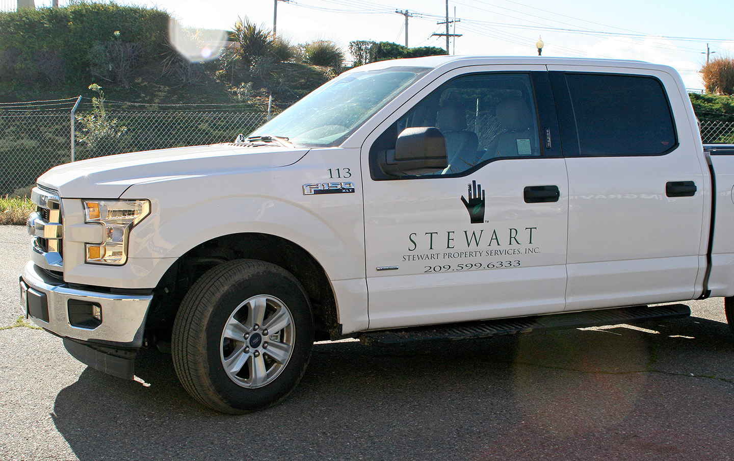 stewart property management stewart property management door graphics visual 29799